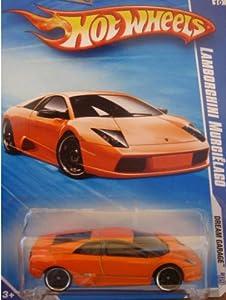 Hot Wheels 2009-150 Dream Garage #4 ORANGE Lamborghini Murcielago 1:64 Scale