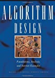 Algorithm Design: Foundations, Analysis, and Internet Examples (0471383651) by Michael T. Goodrich