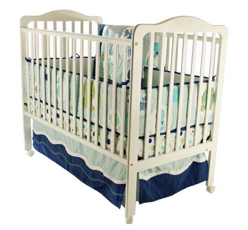 Dream On Me Cumberland 2 in 1 Convertible Crib, White