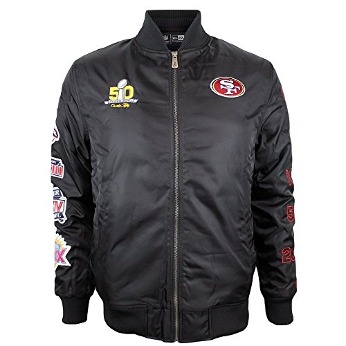 new-era-san-francisco-49ers-super-bowl-50-nfl-blouson-bomber-noir-xl-noir