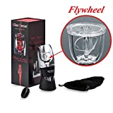 Wine Aerator Decanter With Flywheel Innovative Design,Wine Accessories Gifts,Kitchen Tool For Home Use or House Party