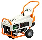 Generac 6000 LP3250 3,750 Watt 212cc OHV Liquid Propane Powered Portable Generator With Tank Holder