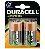 Duracell Duracell - HR20, Accu Ni-MH Mono 1,2V 2200mAh D 2200MAH NIMH 2-BL Duracell HR20