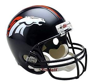 NFL Denver Broncos Deluxe Replica Football Helmet by Riddell