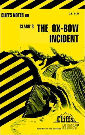 Image for Cliffsnotes Ox-Bow Incident