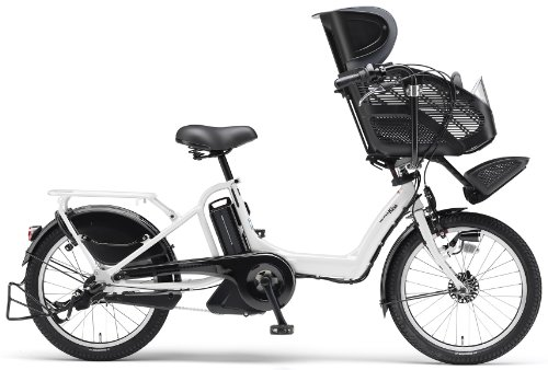 YAMAHA(ヤマハ) PAS Kiss mini 20インチ 電動自転車 2014年モデル [8.7Ahバッテリー、内装3段変速、オートライト機能、急速充電器付き] クリスタルホワイト PM20K