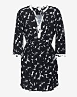 Parker Mallory Dress in Brush Stroke Print