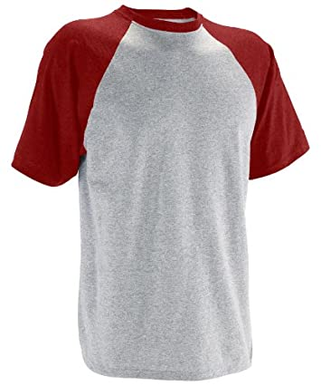 Russell Athletic Men's Short Sleeve Cotton Raglan Tee