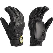 Sector 9 Lightning Slide Gloves Large Xlarge Black Skate Pads