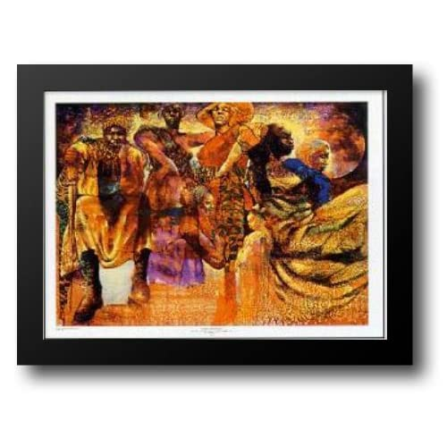 Room Full of Sisters 38x29 Framed Art Print by Goodnight, Paul