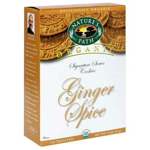 Buy Nature's Path Organic Cookies, Ginger Spice, 9-Ounce Boxes (Pack of 12) (Nature's Path, Health & Personal Care, Products, Food & Snacks, Snacks Cookies & Candy, Cookies)