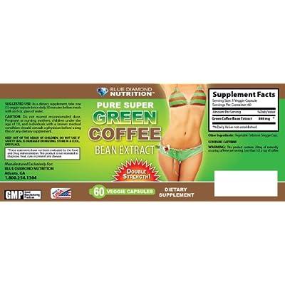 Amazon.com: 2 Blue Diamond Nutrition Pure Super Green Coffee Extract
