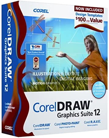 CorelDraw Graphics Suite 12 Upgrade