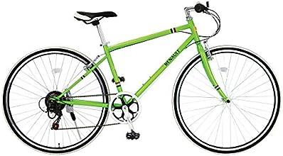 RENAULT(ルノー)  700c CRB7006S クロスバイク グリーン 700×28c シマノ6段変速機搭載 前後Vブレーキシステム 11130-1199