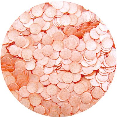レッドネイルズ ピカエース 丸カラー2mm スイートオレンジ425