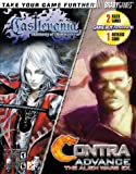 img - for Castlevania Harmony of Dissonance / Contra Advance Official Strategy Guide book / textbook / text book