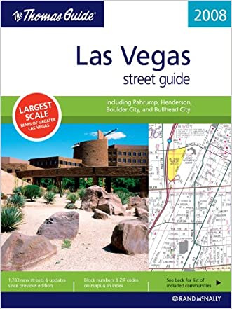 The Thomas Guide 2008 Las Vegas Street Guide (Las Vegas and Clark County Street Guide and Directory)