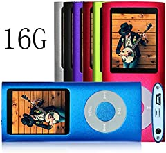G.G.Martinsen Blue 16 G Mini Usb Port Slim Small Multi-lingual Selection 1.78 LCD Portable MP3/MP4, MP3Player , MP4 Player , Video Player , Music Player , Media Player , Audio Player