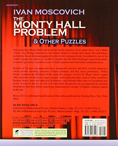 Monty Hall Problem and Other Puzzles (Dover Recreational Math)