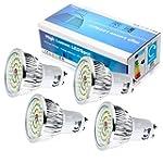 Elinkume 4X GU10 Ampoule LED 6W Lampe...