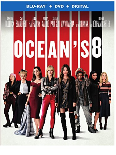 Blu-ray : Ocean's Eight (Dolby, AC-3, 2 Pack, Subtitled, Dubbed)