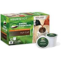 72 Count Green Mountain Coffee Half-Caff Keurig K-Cups