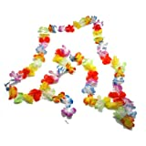 Hawaiian Flower Lei Garland - 9 Feet