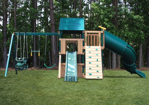 Congo Explorer Tree House Climber Low Maintenance Swing Set