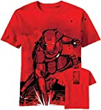 Iron Man 3 Stained Back AOP Men's Red T-Shirt