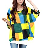 ZANZEA Bohemian Hippie Big Size Batwing Sleeve Chiffon Blouse Loose Off Shoulder Tee Shirt