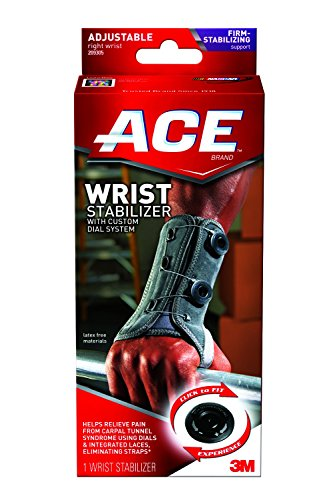 Ace Wrist Stabilizer with Right Adjustable Custom Dial System (Ace Bandage Wrist compare prices)
