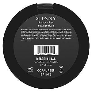 SHANY Paraben Free Powder Blush, Coral Reef