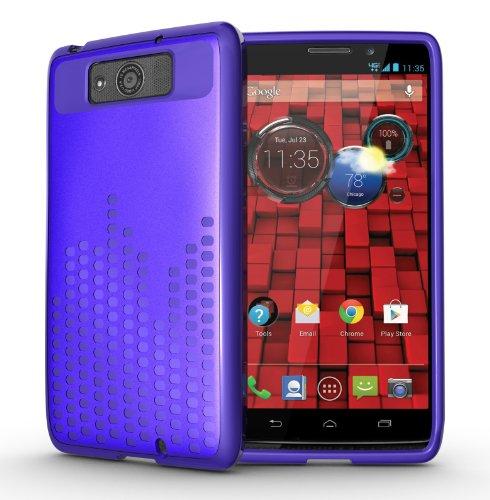 Tudia Ultra Slim Melody Series Tpu Protective Case For Motorola Droid Maxx (Late 2013) Xt1080M (Purple)