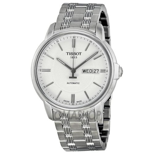 Tissot Automatic III White Dial Mens Watch T0654301103100