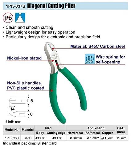 1PK-037S-Diagonal-Cutting-Plier-(110mm)
