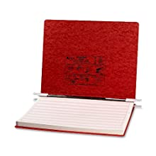 ACCO Pressboard Hanging Data Binder, 14.875 x 11 Inches, Executive Red (54079)