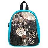 Creative Time Space Soft PU Backpack School Bag