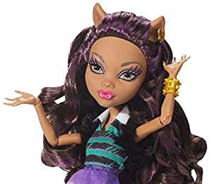 Monster High A PACK OF TROUBLE SET Exclusive 4-Pack of Werewolves - Clawdeen Wolf, Howleen Wolf, Clawd Wolf and Clawdia Wolf