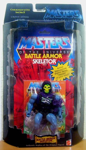 Buy Low Price Mattel Masters of the Universe Commemorative Series II Battle Armor Skeletor Figure (Limited Edition of 15,000) (B001FN88N2)