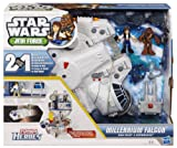 Playskool Heroes - Star Wars - Jedi Force - Millennium Falcon with Han Solo and Chewbacca