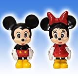 2.5 MICKEY & MINNIE MOUSE (CLASSIC) CUPCAKE CAKE TOPPER SET