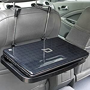 buy ecvision multi functional portable car seat back laptop pc tray car auto seat foldable. Black Bedroom Furniture Sets. Home Design Ideas