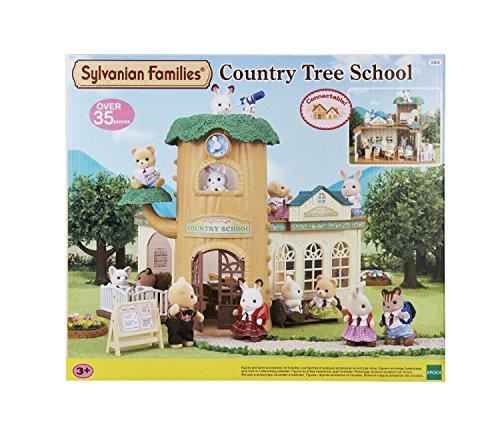 sylvanian-families-5105-ecole-de-la-foret-maison-de-poupee