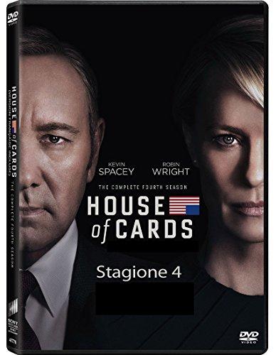 house of cards - season 04 (4 dvd) box set dvd Italian Import