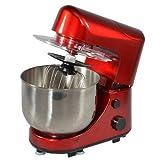 Kitchen chef sm169br Robot multifonctions 4l 600w et blender rouge