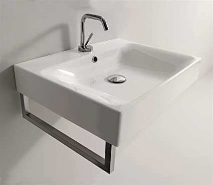 Bathroom Sink in White