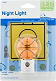 Jasco 13366 Night Light with LED Sports Shade Basketball Auto On/Off