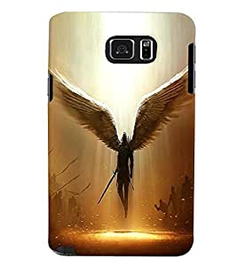 Samsung Galaxy NOTE 5 MULTICOLOR PRINTED BACK COVER FROM GADGET LOOKS