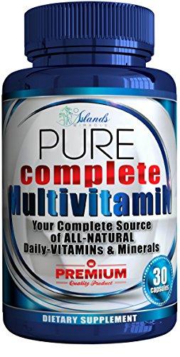 Daily Multivitamin For Men & Women + Antioxidant All Natural Vitamins A, B Complex, C, Vitamin D3