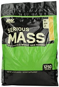 Optimum Nutrition Serious Mass Gainer Banana, 1er Pack (1 x 5455 g) by Optimum Nutrition